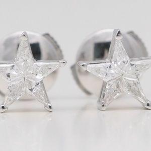 18K Kite Diamond Star S 0.31 Ct C19000279